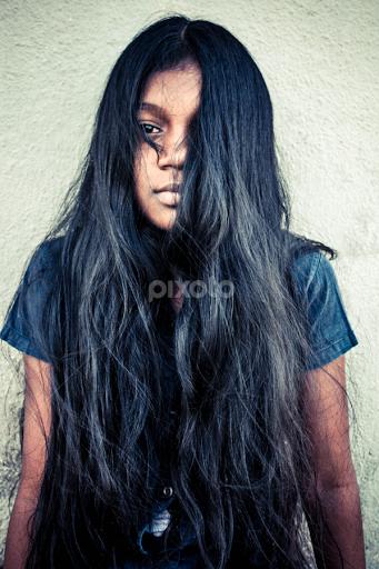 Long Hair Street Candids People Pixoto