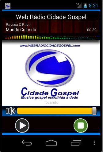 P2VOX Rádio Cidade Gospel