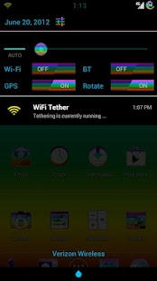 AOKP & CM9 rainBRO .. rainbow- screenshot thumbnail