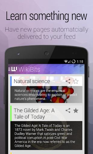WikiBits - Discover Wikipedia
