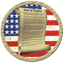 US Constitution Bill of Rights icon