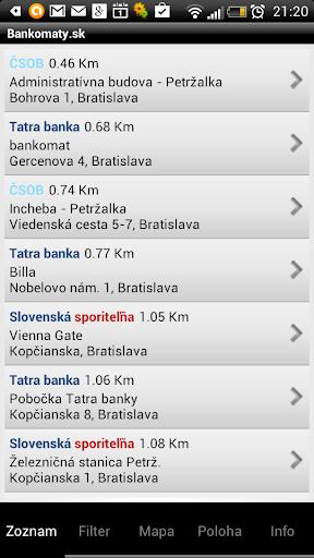 Bankomaty.SK - ATMs SLOVAKIA