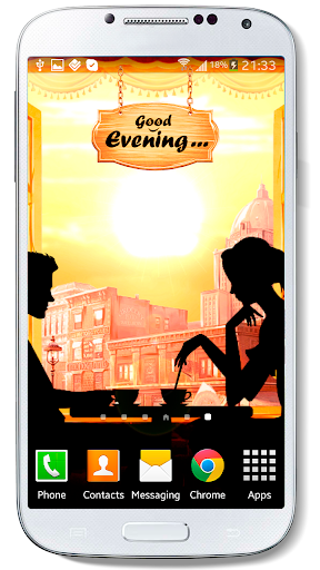 Retro Cafe Live Wallpaper Free