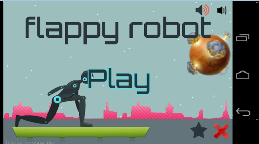 flappy robot run