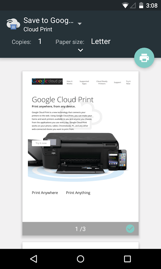 Cloud Print- screenshot
