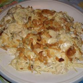 Easy Turkey Tetrazzini.