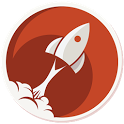 Comic Rocket webcomic reader icon