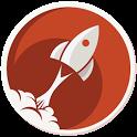 Comic Rocket webcomic reader icon