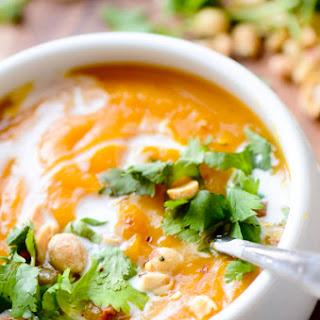 Thai Curried Butternut Squash Soup