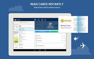 Screenshot of CamCard Free - Business Card R