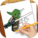 Learn to Draw Lego Star Wars icon