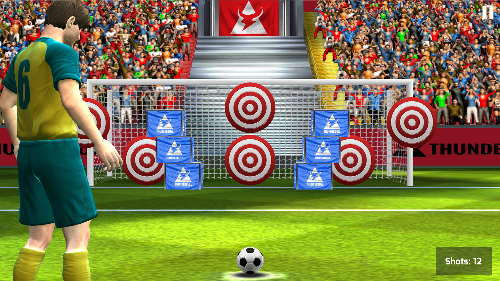 Real Kick Football Goal Soccer- screenshot