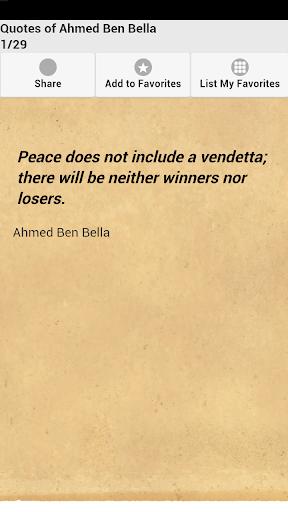 Quotes of Ahmed Ben Bella