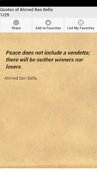 Quotes of Ahmed Ben Bella