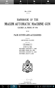 Maxim machine gun handbook. - screenshot thumbnail
