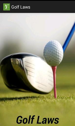 Golf Laws