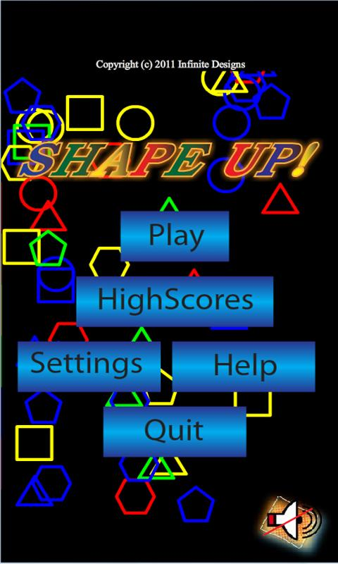 ShapeUp - screenshot