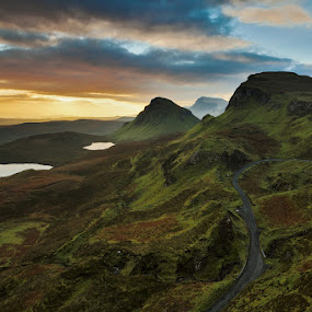 Quiraing (Isle of Skye) by Evžen Takač - Landscapes Mountains & Hills ( scotland, quiraing (isle of skye), moutains, travel )