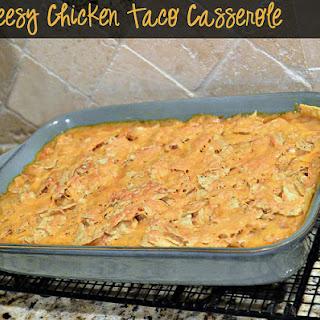 Cheesy Chicken Taco Casserole