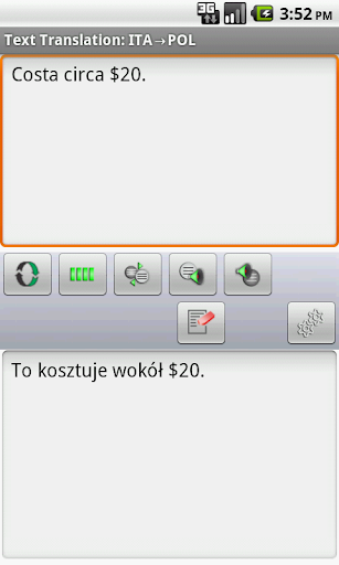 Eng-Pol-Ita Offline Translator