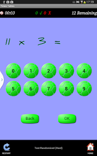 Times Tables Teacher - screenshot thumbnail