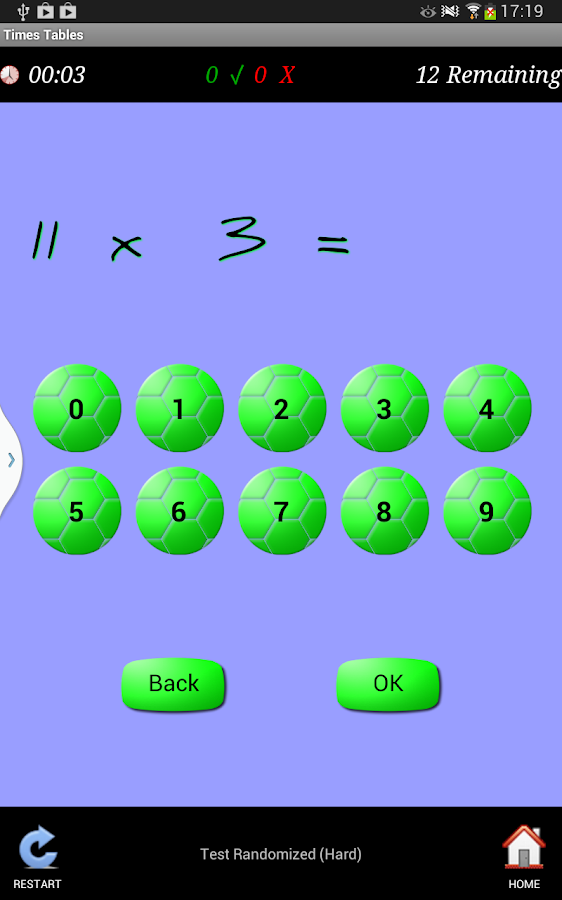 Times Tables Teacher- screenshot