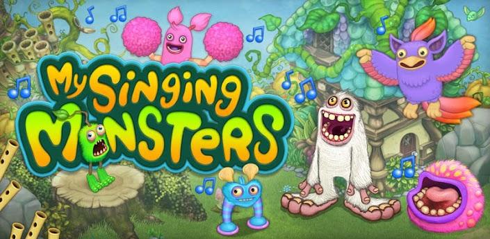لعبة تجميع وغناء الوحوش للصغار : My Singing Monsters