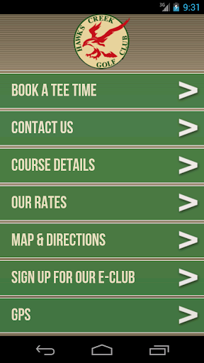Hawks Creek Golf Club