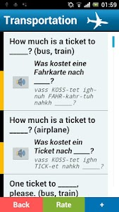 German phrasebook (free) screenshot 1
