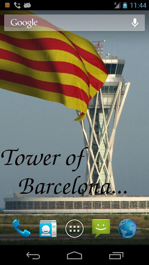 Catalunya Flag Live Wallpaper+ - screenshot