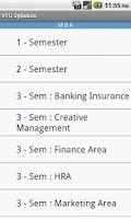 Screenshot of VTU Syllabus