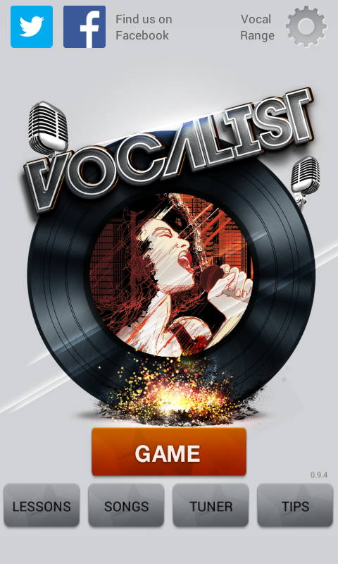 Vocalist Lite- screenshot