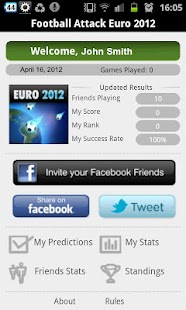 Football Attack Euro 2012 - screenshot thumbnail