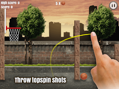 Through the Hoop - Basketball- screenshot thumbnail
