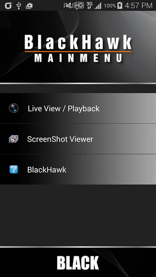 BlackHawk (v3.2.1.8)- screenshot