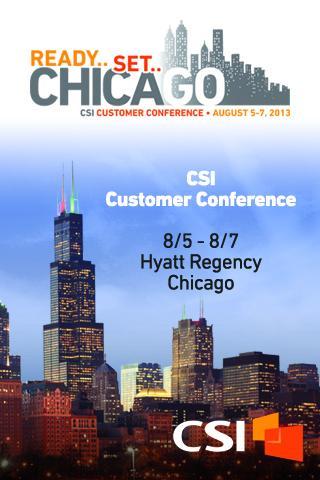 CSI Customer Conference 2013