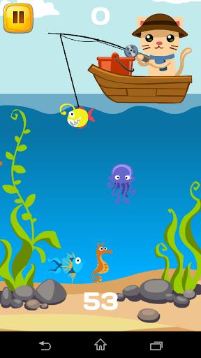 【免費街機App】Fishing Tom-APP點子