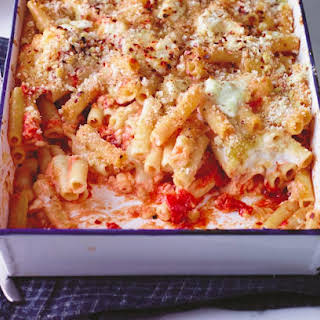 The Quintessential Baked Ziti Arrabbiata.