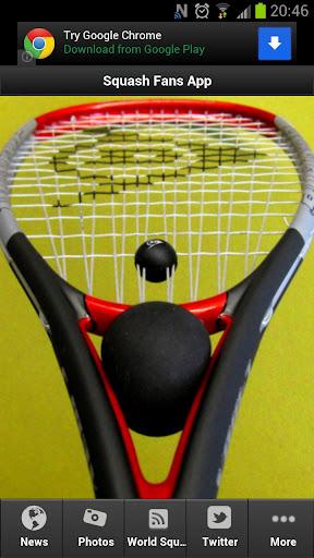 Squash Fans App