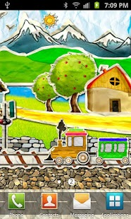 Paper Train Live Wallpaper - screenshot thumbnail