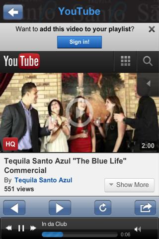 Tequila Santo Azul - screenshot