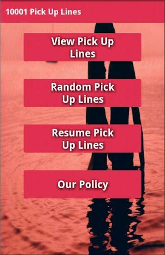 【免費娛樂App】10001 pick up line-APP點子