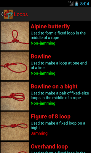 玩免費書籍APP|下載Useful Knots - Tying Guide app不用錢|硬是要APP