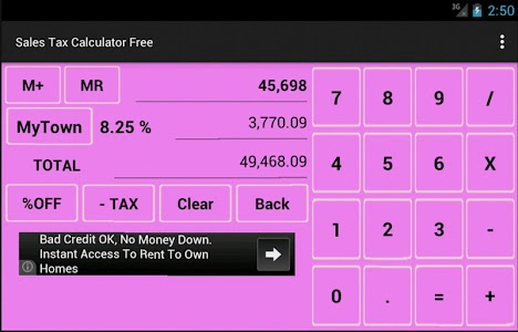 Sales Tax Calculator Free screenshot 7