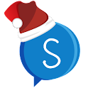 Santa Talk logo