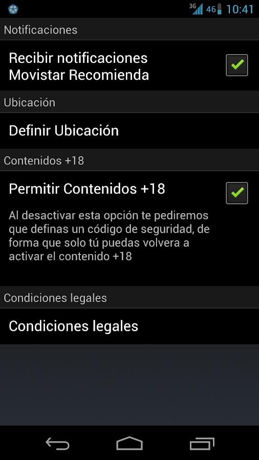 Recomienda - screenshot