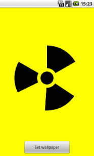Nuclear Sign Wallpaper - screenshot thumbnail