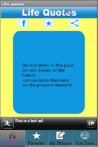 玩免費娛樂APP 下載Life Quotes app不用錢 硬是要APP