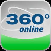360° online – Die App