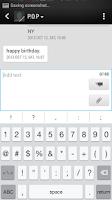 Screenshot of Emoji Keyboard-Emoticons,White